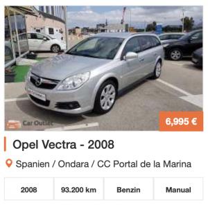 gebrauchtwagen Barcelona kaufen