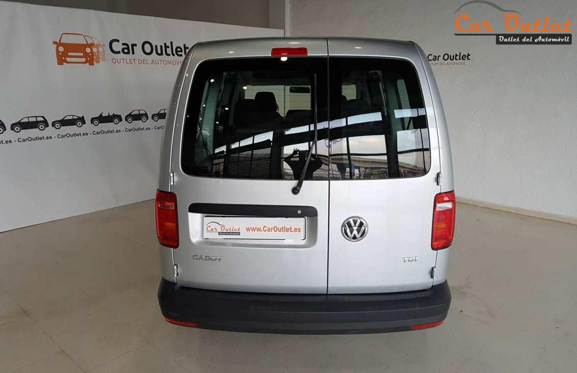 6 - Volkswagen Caddy 2016