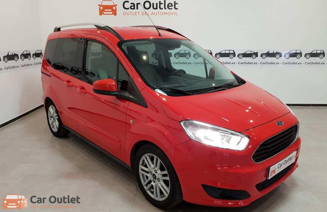 13 - Ford Tourneo Courier 2015