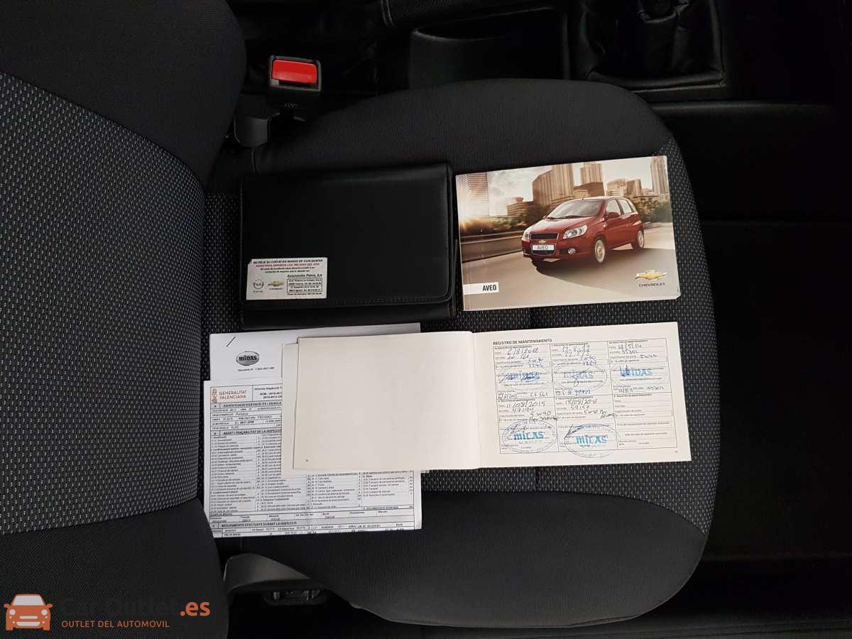 12 - Chevrolet Aveo 2011