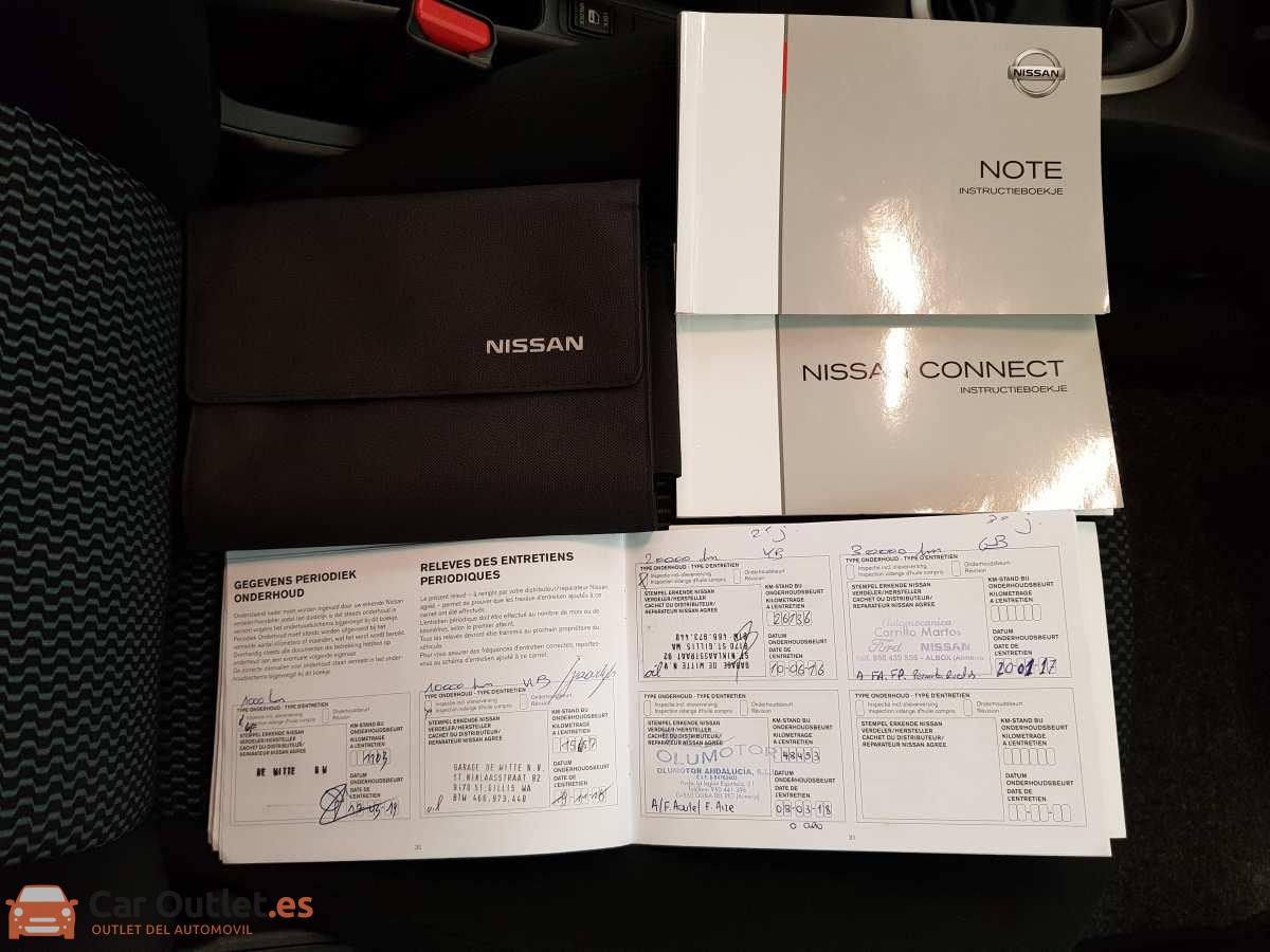 20 - Nissan Note 2013
