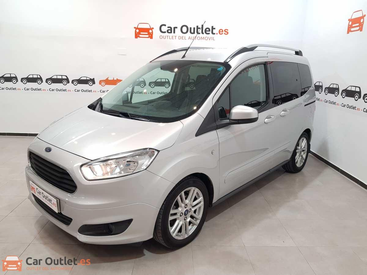 Ford Tourneo Courier Benzin - 2017