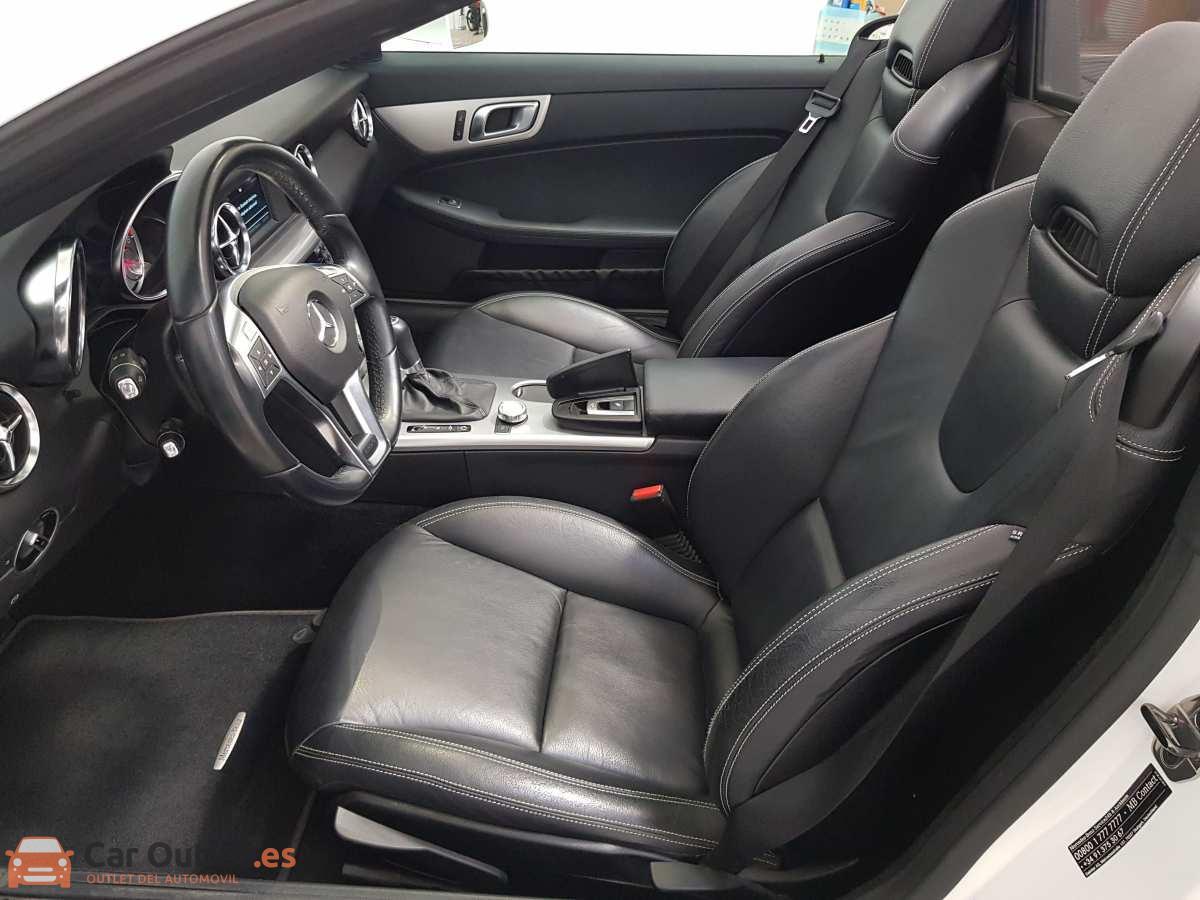7 - Mercedes SLK Class 2014 - AUTO - CABRIO