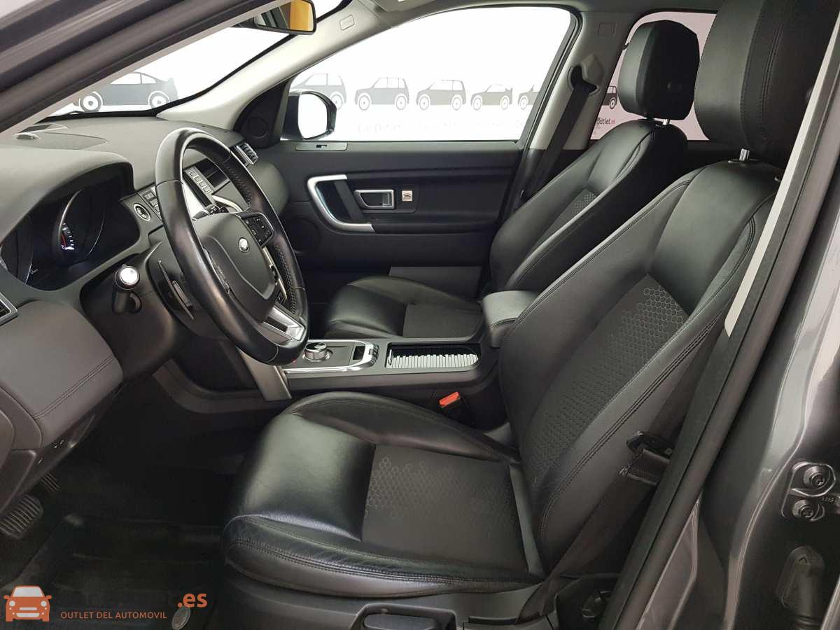 8 - Land Rover Discovery Sport 2016 - AUTO