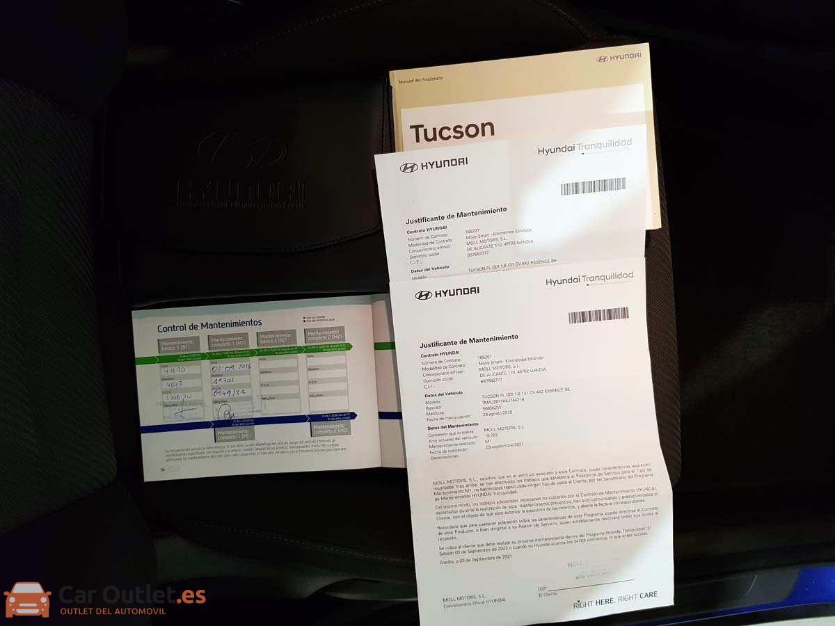 24 - Hyundai Tucson 2019